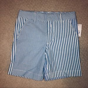 Gap 4T striped shorts NWT